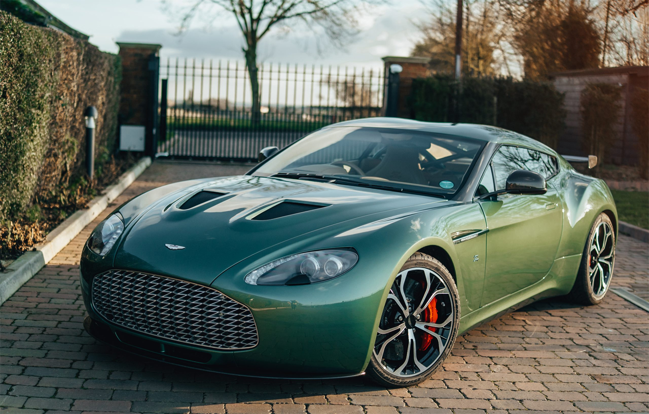 Here S Your Chance To Own An All Aluminum 2012 Aston Martin Zagato Slashgear