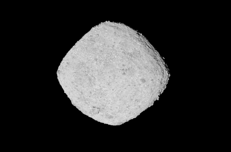 NASA says sunlight causes cracks on the surface of asteroid Bennu