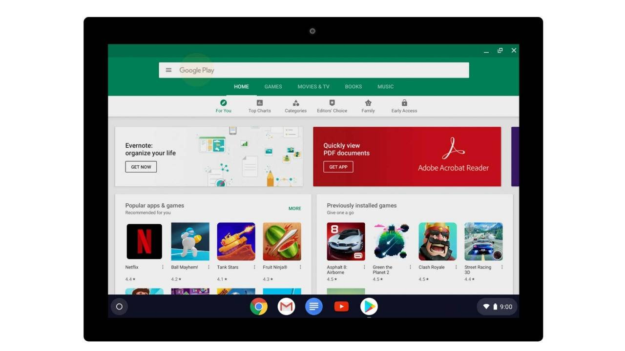 Google Play Store premium games for Chromebooks could just be the beginning