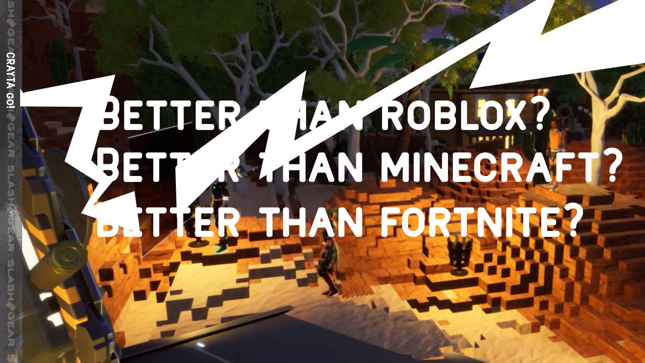 """Crayta Stadia """"free"""" launch better battle Fortnite, Minecraft, and Roblox"""