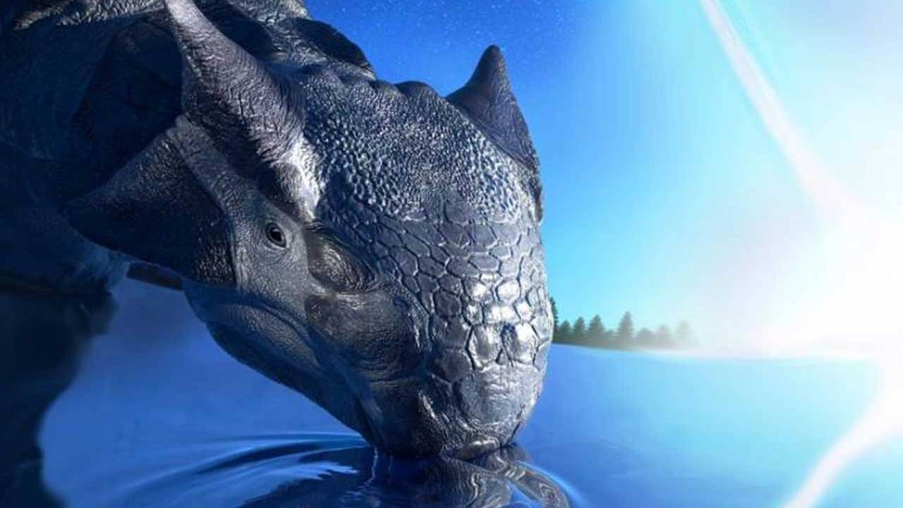 Researchers say an asteroid impact is what caused dinosaurs to go extinct