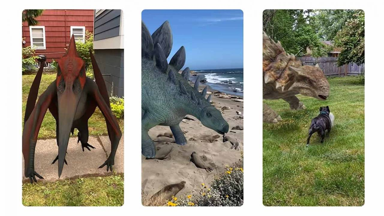 Google Search gets realistic Jurassic World dinosaurs with AR