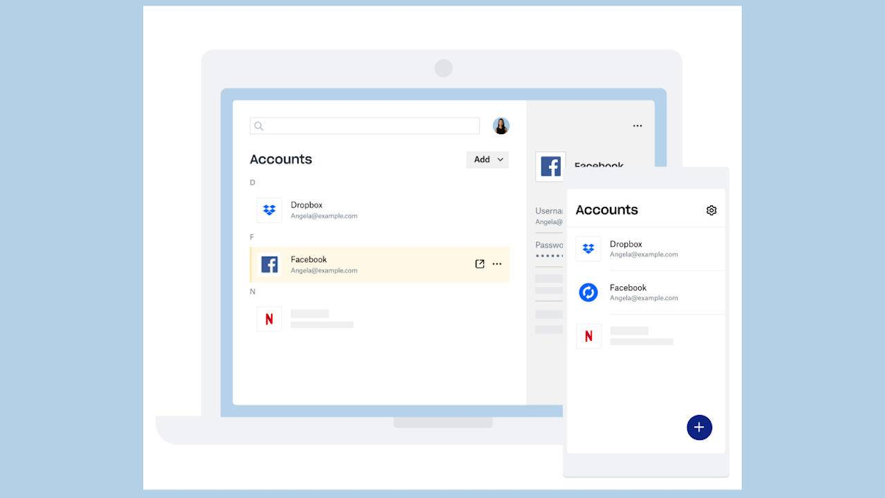 Dropbox Passwords, Vault, Backup try to make working from home easier