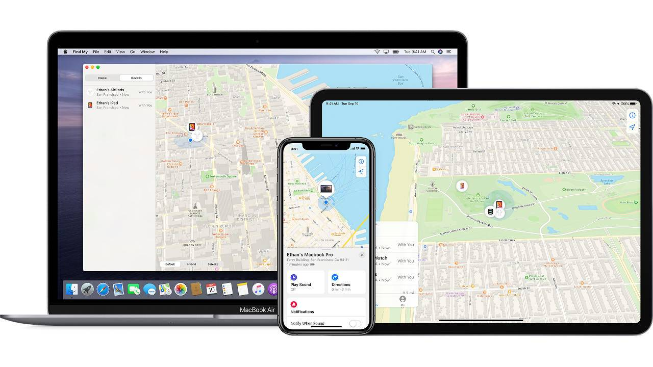 Apple Find My network to help Tile and others track lost items