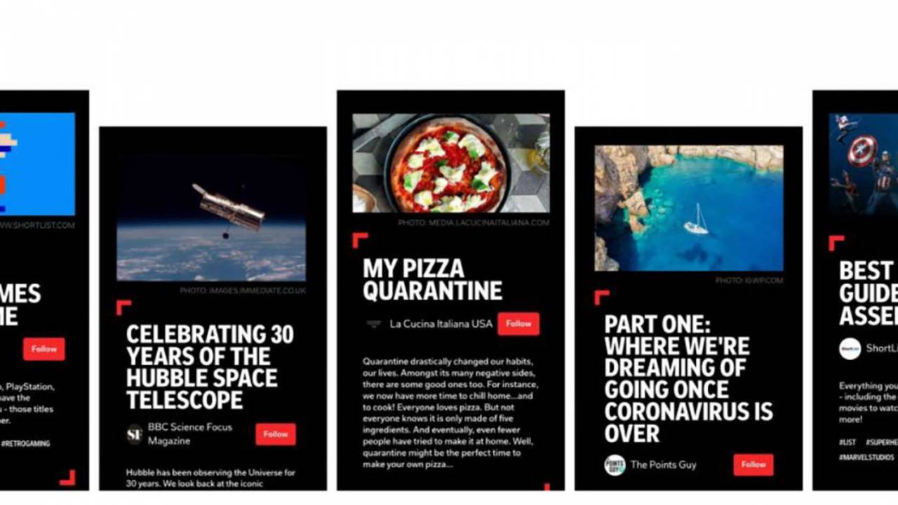 Flipboard Storyboards roll out with curated articles, tweets and audio