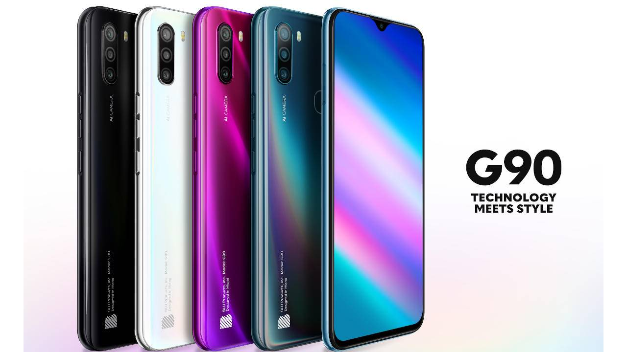 BLU G90 heralds company's jump into an Android 10 world