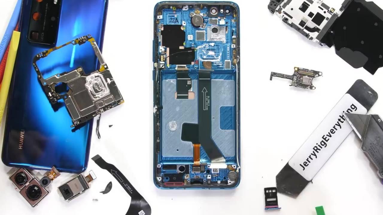 Huawei P40 Pro teardown is almost too boring
