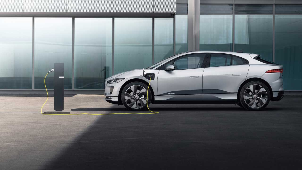 2021 Jaguar I-PACE gains faster charging and an improved infotainment system