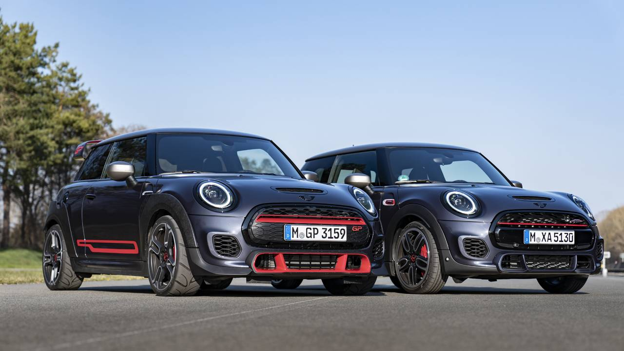 Mini John Cooper Works GP Pack is a limited-edition