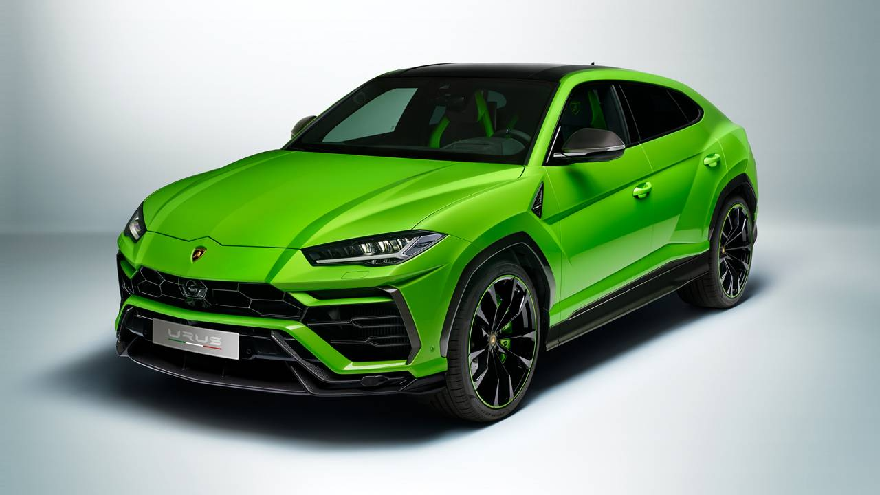 Lamborghini debuts Urus Pearl Capsule SUV