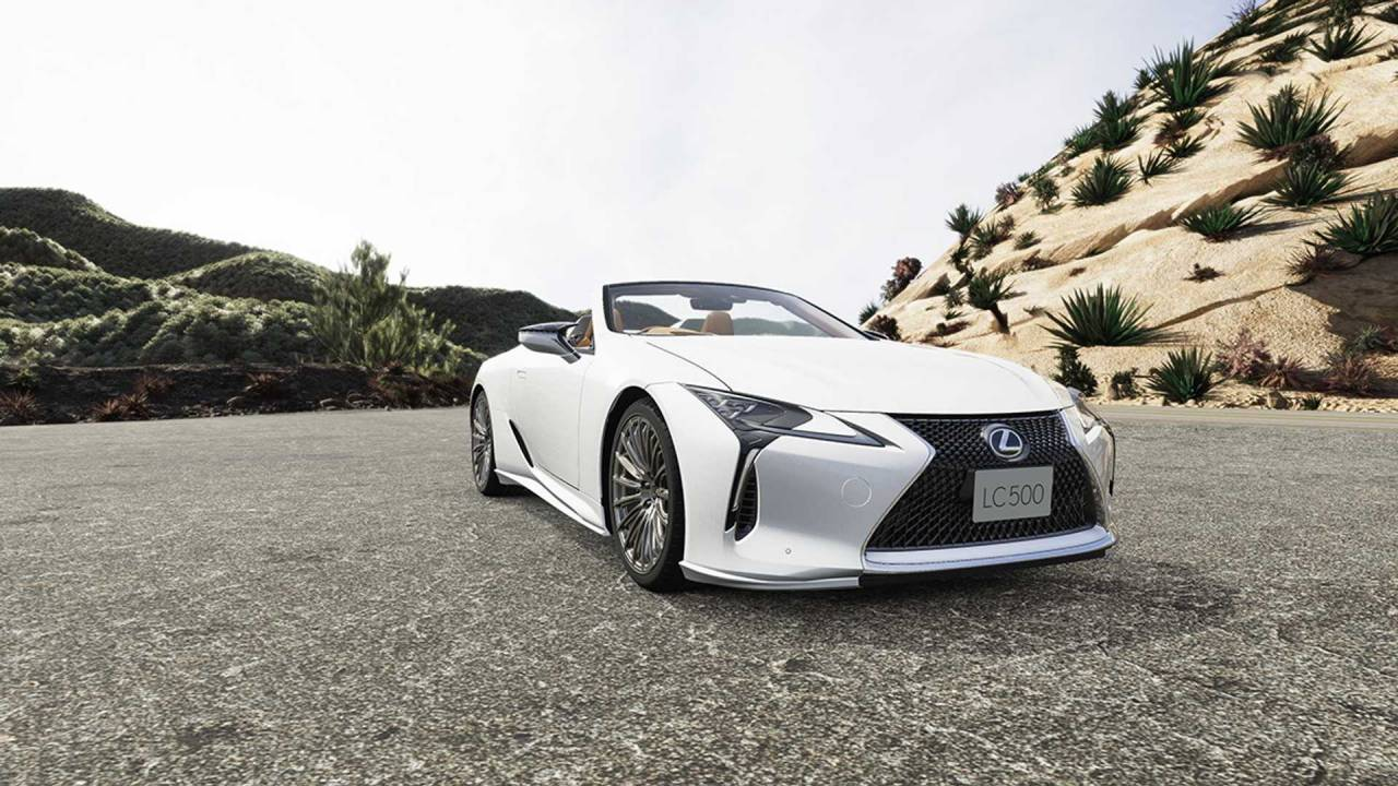 Lexus LC receives the TRD treatment with go-fast aero bits