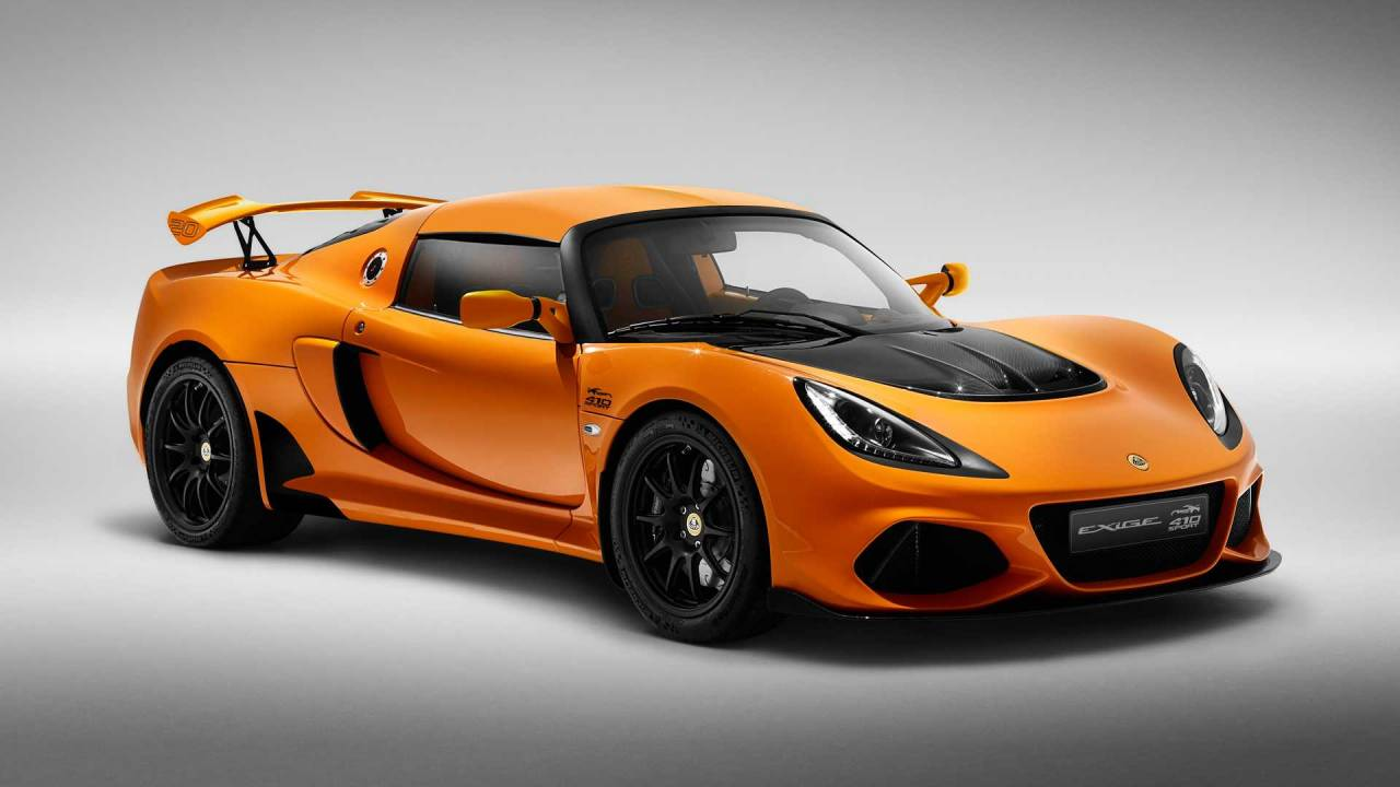 The Lotus Exige Sport 410 20th Anniversary is worth a look