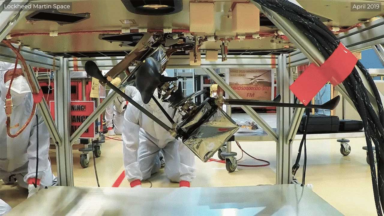 NASA talks about how the Mars Ingenuity Helicopter will deploy