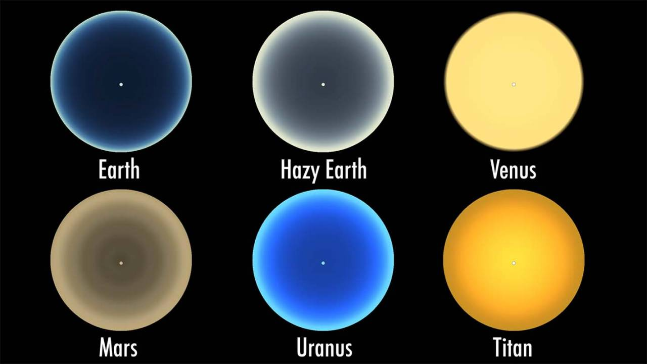 NASA shows what sunsets look like on other planets and moons