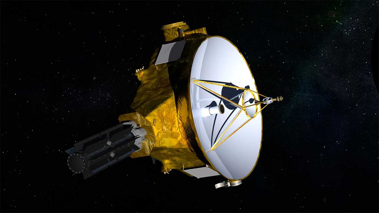 New Horizons sends images to Earth from a vast distance