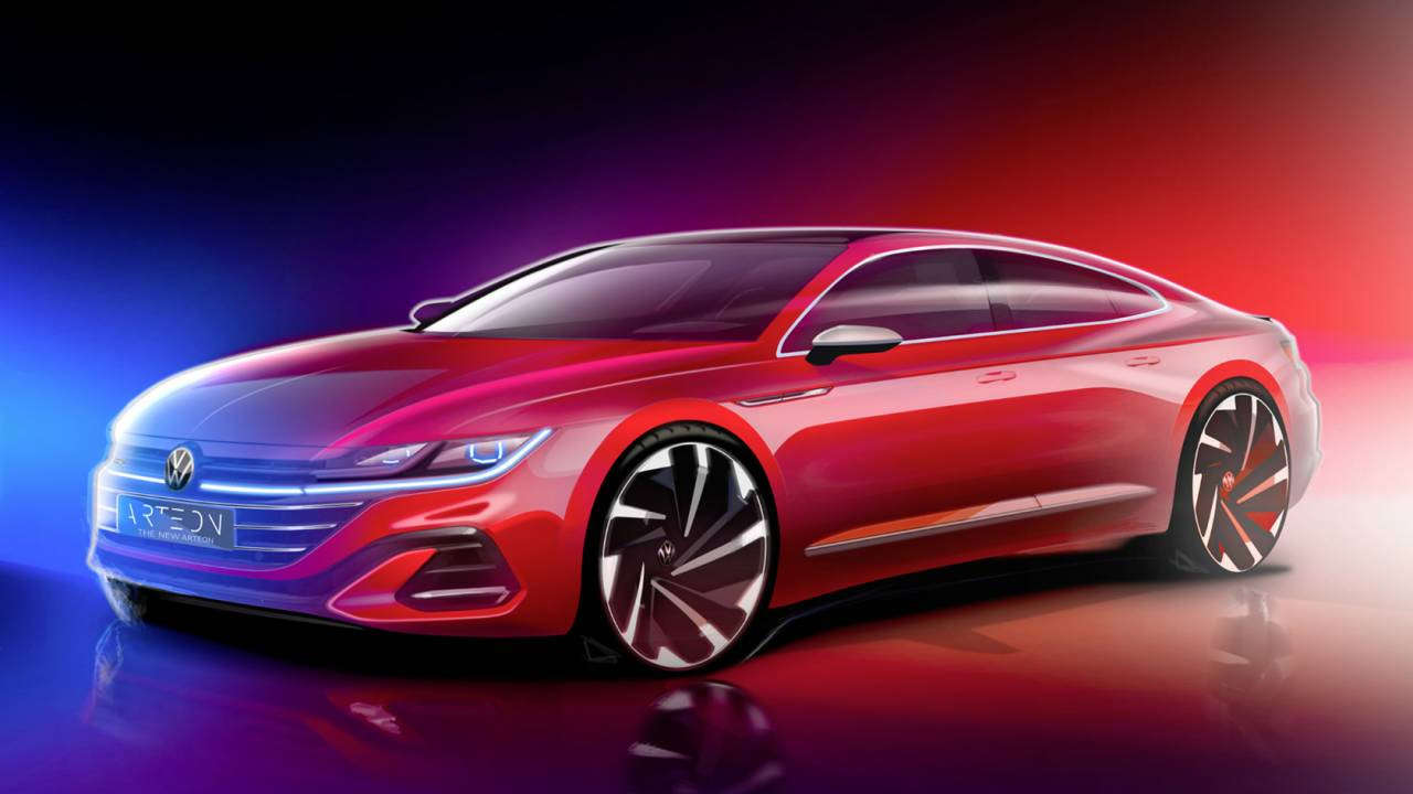 2021 VW Arteon teased with stunning Shooting Brake surprise