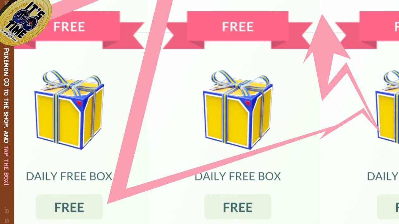 "How Pokemon GO got daily free boxes and ""guaranteed"" encounters"