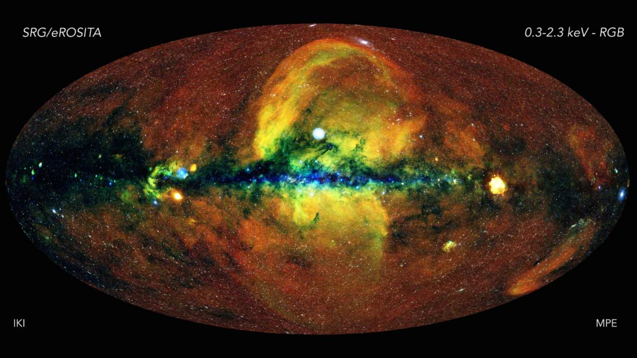 This glorious new all-sky image of the universe gives you X-ray vision