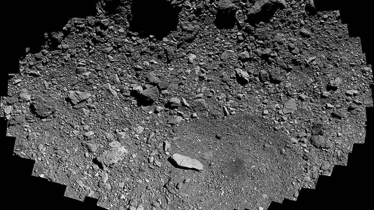 NASA's OSIRIS-REx gets up close and personal with asteroid Bennu