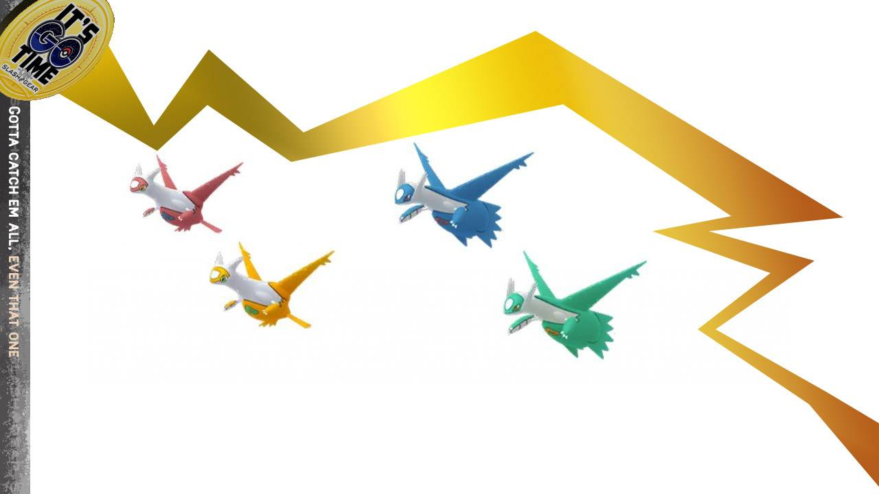 Shiny Pokemon GO Latios and Latias raid weakness, time, notes