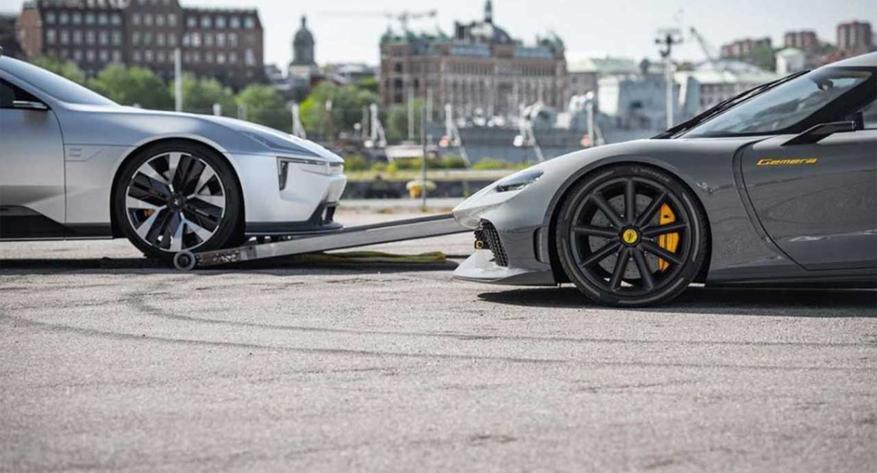 Koenigsegg and Polestar are cooking up something mysterious