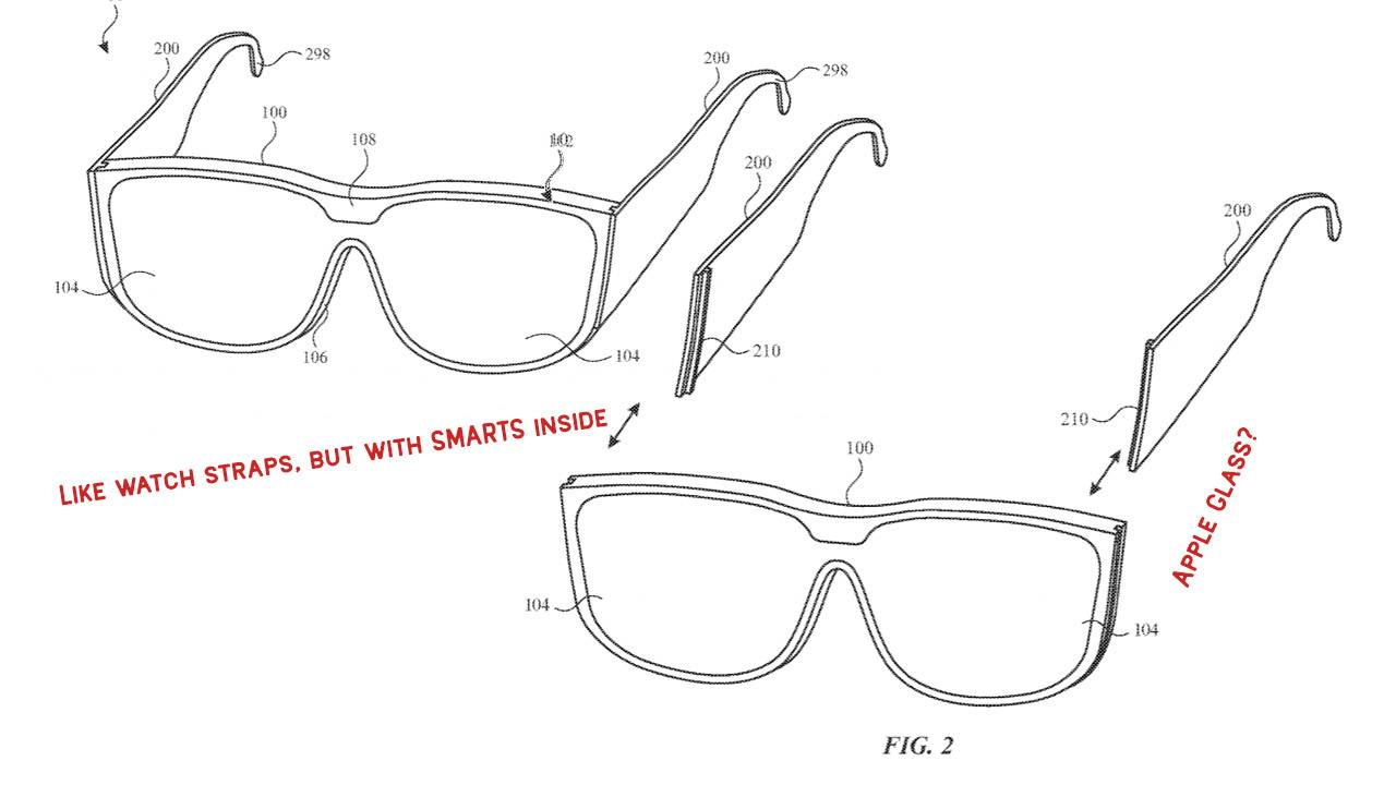 Apple Glass patent shows modular system for future hero tech