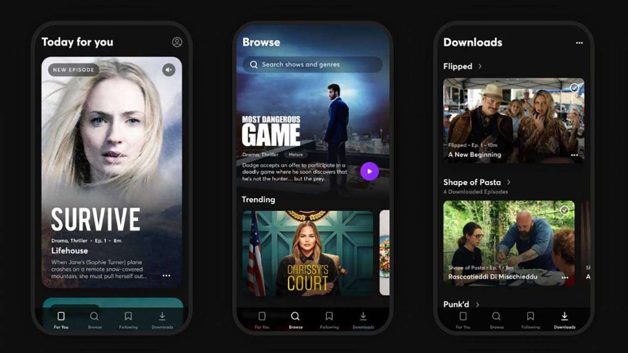 Quibi video service for smartphones adds Chromecast support