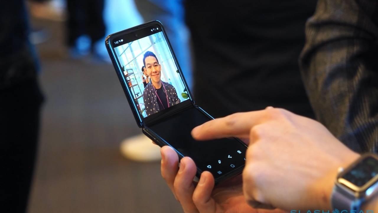 Galaxy Z Flip front camera unsurprisingly fails to impress DxOMark