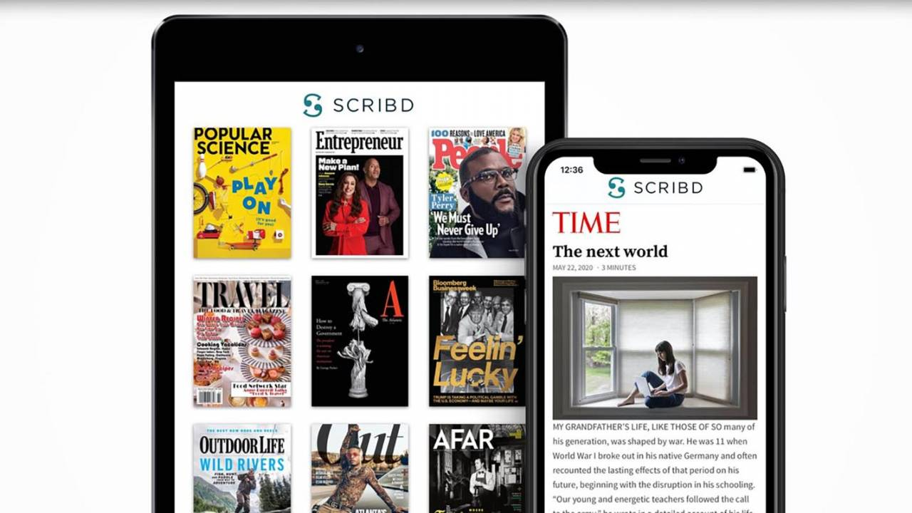 Scribd ebook subscription plan expands with 1,000 premium magazines