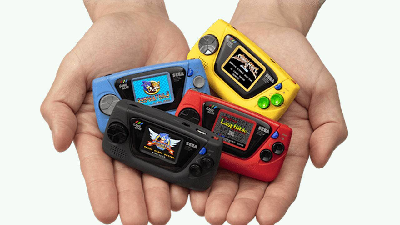 Sega Game Gear Micro is the oddest retro mini console yet