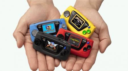 Sega Game Gear Micro is the oddest retro mini console yet