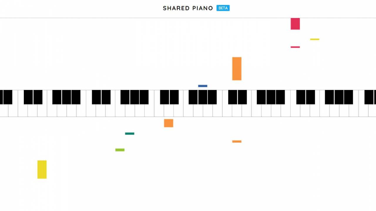 Shared Piano is Google's latest Chrome experiment