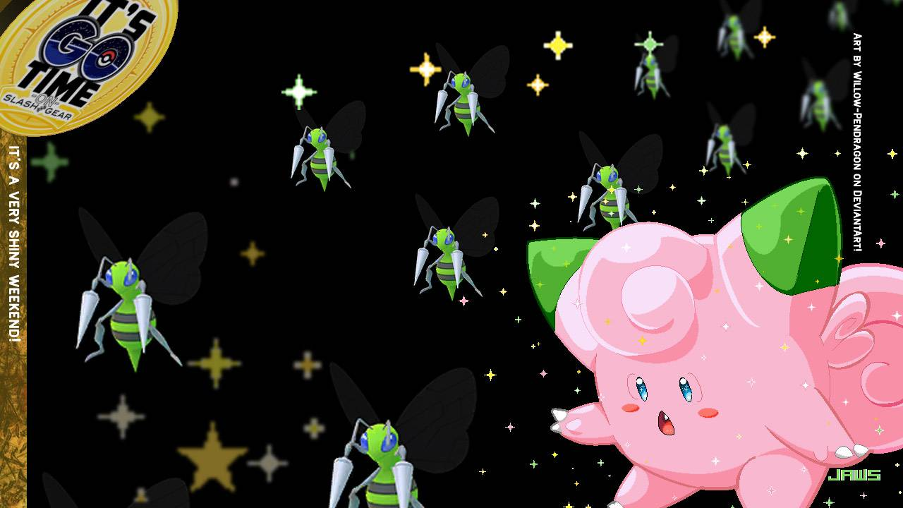 Shiny Pokemon GO weekend: Weedle, Clefairy, Dragon Boat!