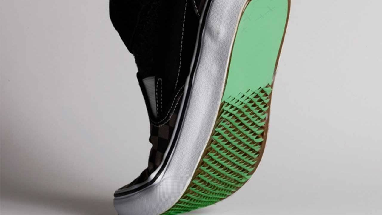 MIT researchers created a shoe coating to help prevent falls