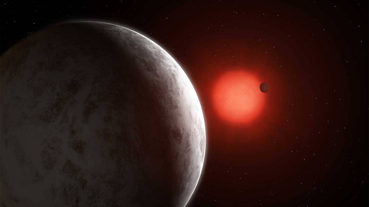 Astronomers detect a system of super-Earth planets orbiting Gliese 887