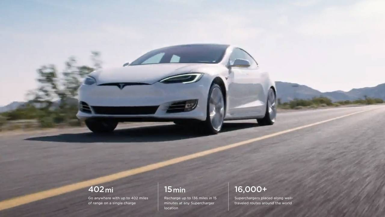 Tesla Model S Long Range Plus reaches 402-mile milestone