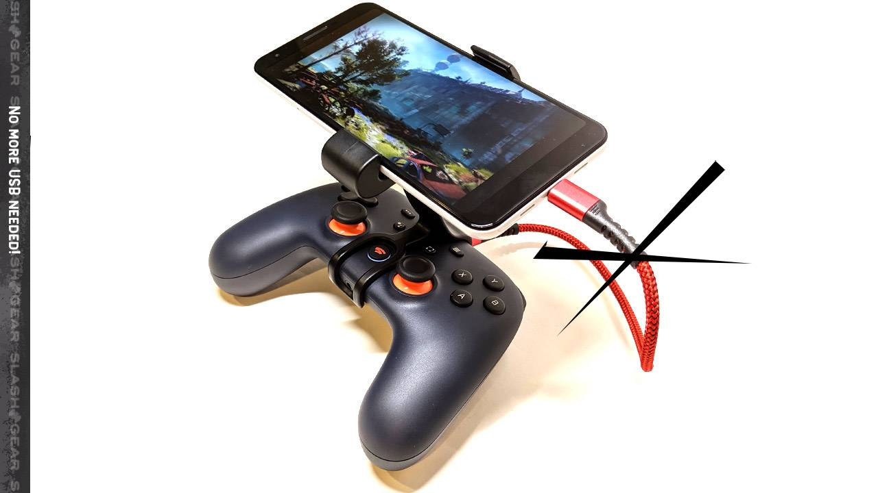 Google Stadia Controller wireless Android update and July's free games