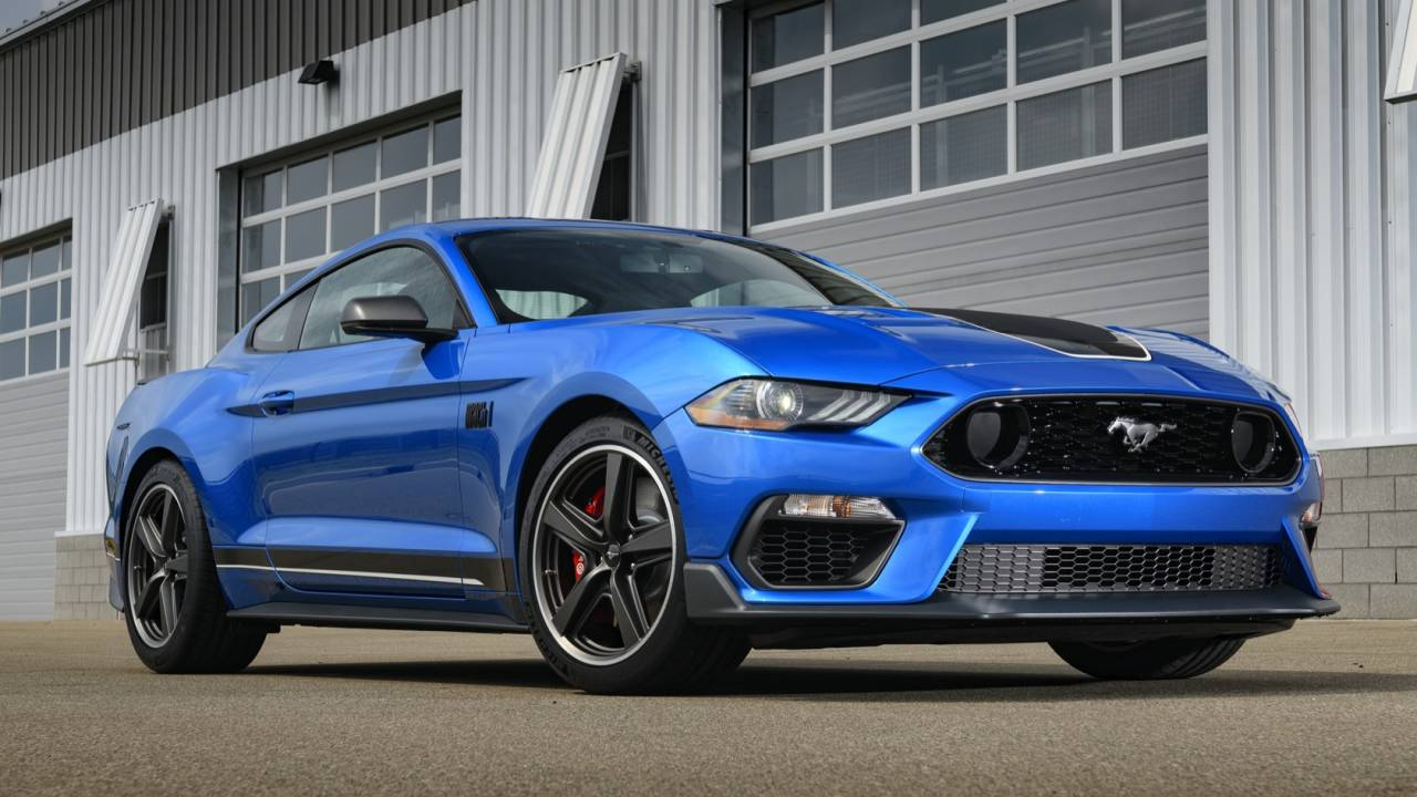 2021 Ford Mustang Mach 1: Classic name gets modern 480hp V8