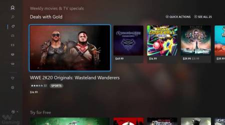 Xbox Store design store gets fluent with Project Mercury