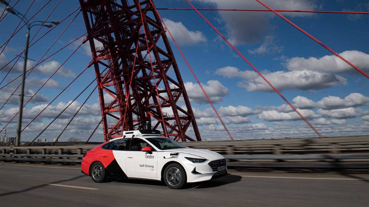 Yandex reveals its fourth-generation self-driving Hyundai