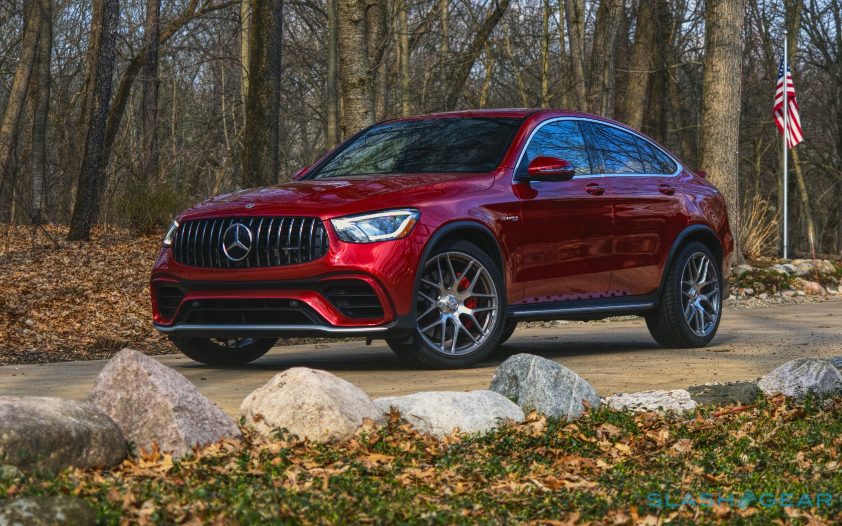 2020 Mercedes Amg Glc 63 S Coupe Review Suspend Disbelief Slashgear