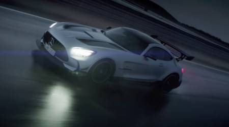 2021 Mercedes-AMG GT Black appears in a new teaser video