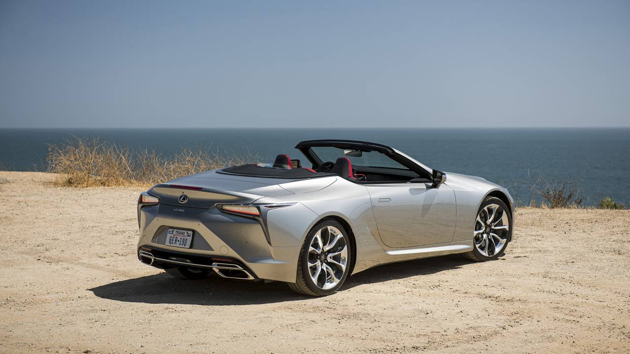 2021 Lexus LC 500 convertible pricing and options announced