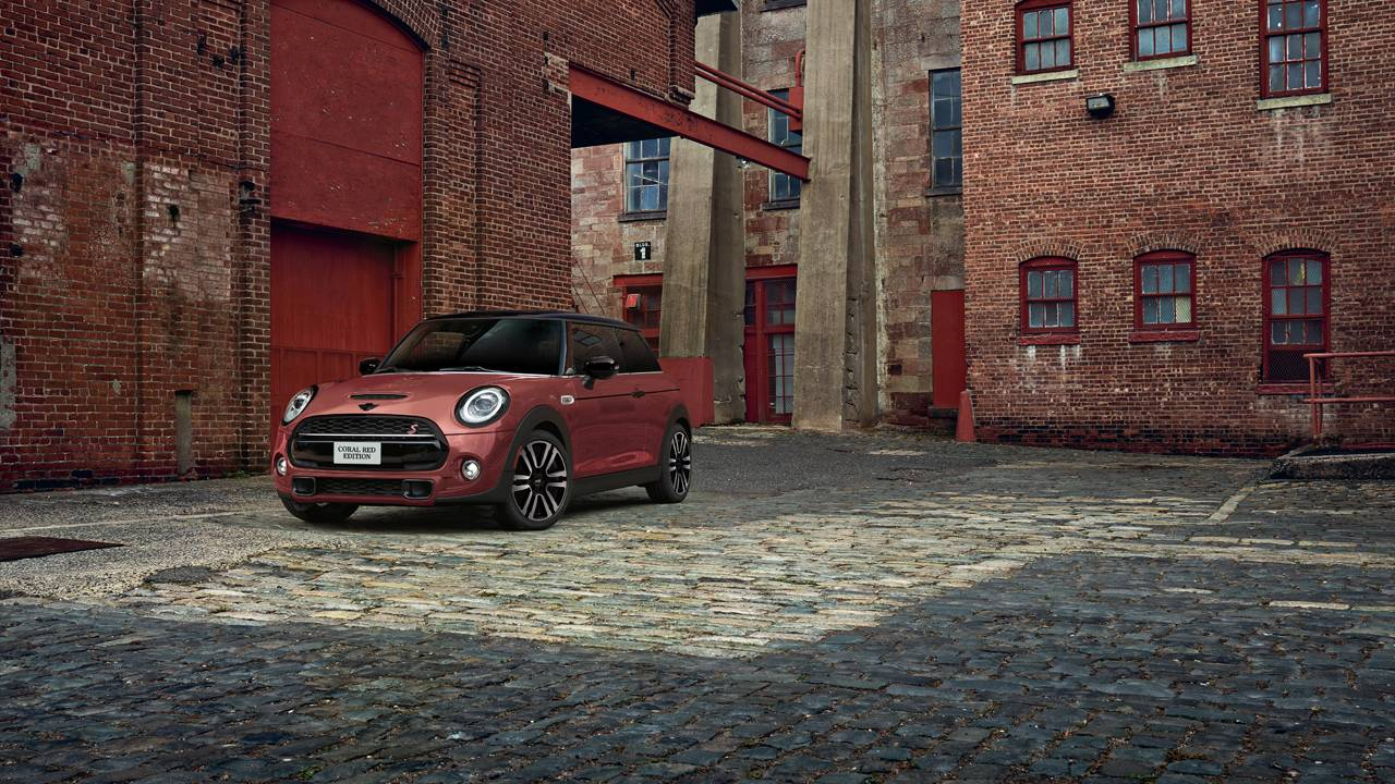 2021 MINI Coral Red Edition Hardtop is limited to 300 units for the US