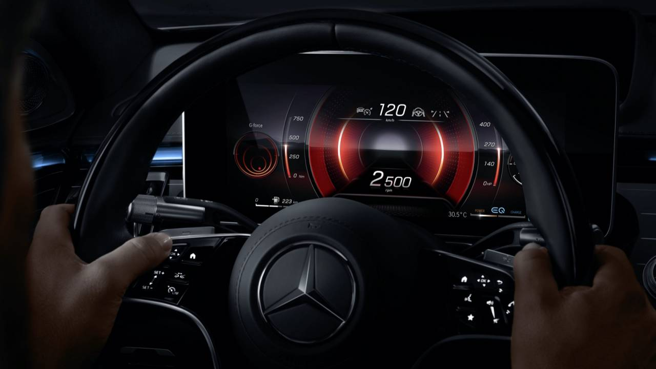 Mercedes looks to new sensors so lavish S-Class is more user-friendly