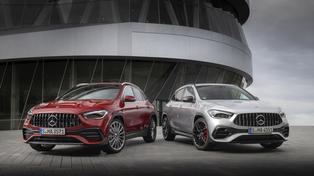 2021 Mercedes-AMG GLA 45 4MATIC+ is packing more horsepower under the hood