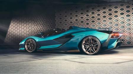 Lamborghini Sián Roadster Gallery