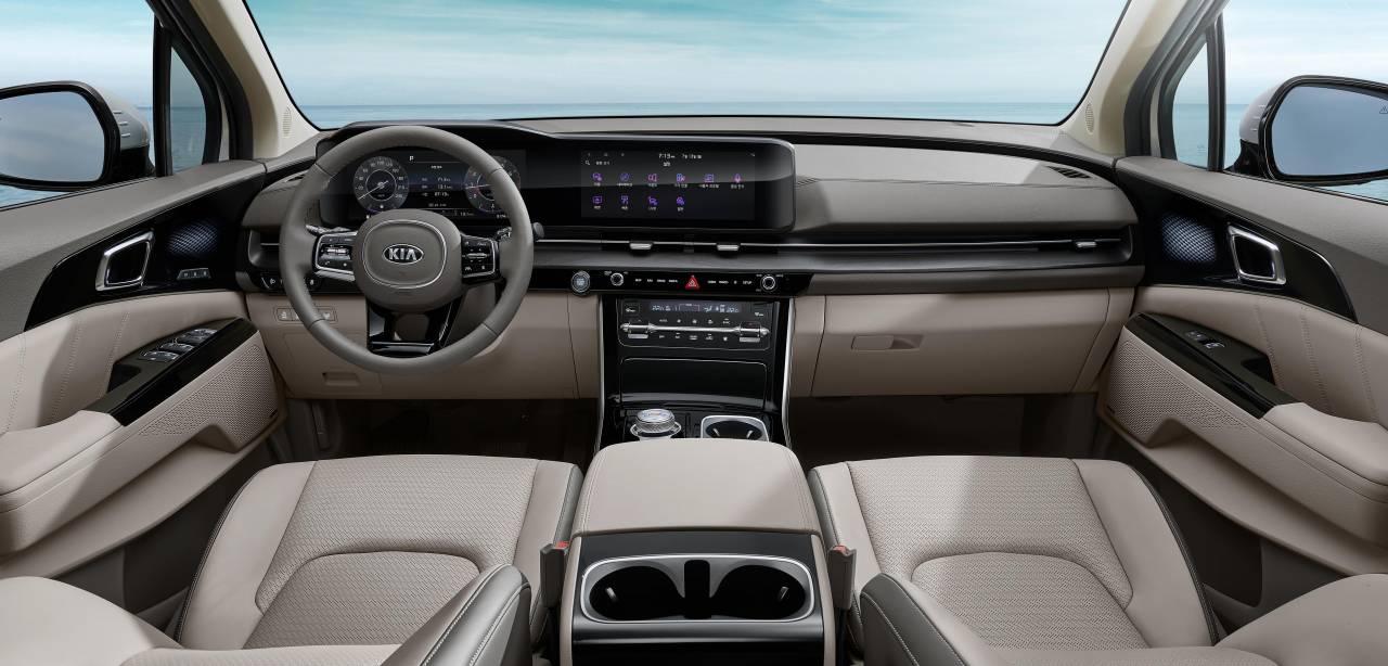 Take a peek at the 2022 Kia Sedona's classy interior ...
