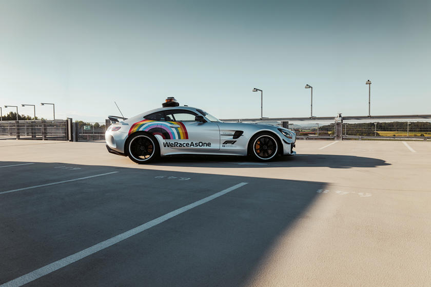 Mercedes-AMG GT R F1 Safety Car returns with a united aura