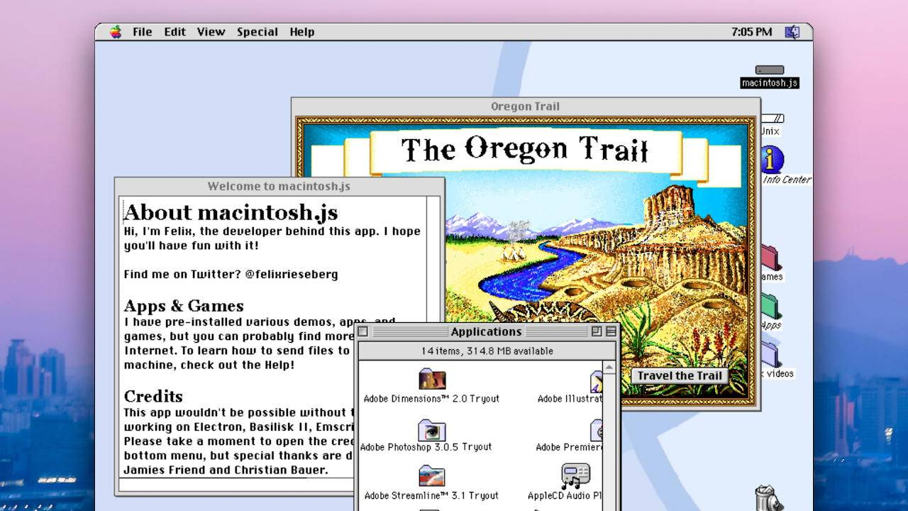 Mac OS 8 emulator lets you relive the past for the first time